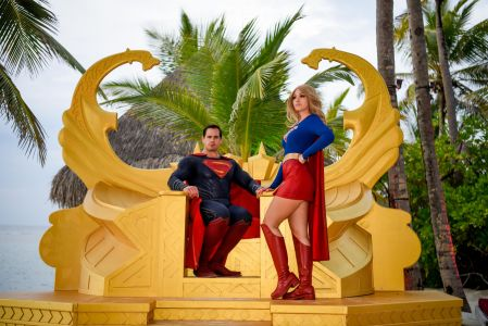 4 supergirl and superman