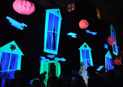 Area 51 Haunted House For Jonathan Ross