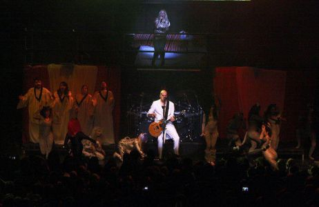 Devin Townsend On Stage At The Roundhouse
