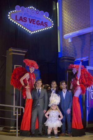Loughborough University - Vegas Theme Event - LSU - Graduation Ball - Stilt Walkers - Performers - Entertainer - Area 51