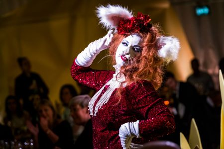 Ms Rabbit cabaret performer