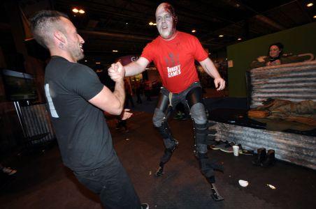 Stilts Make Great Strides At Gadget Show