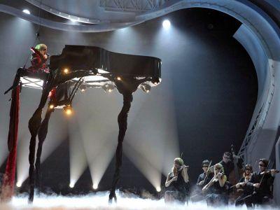 Area 51 Lady Gaga Giant Piano
