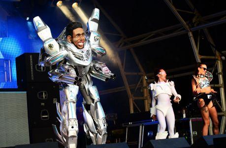 Area 51 Lewis Hamilton Robot