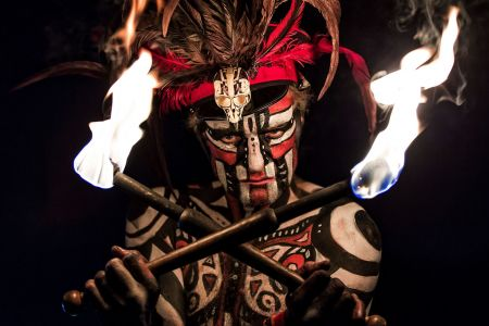 area 51 tribal fire breather