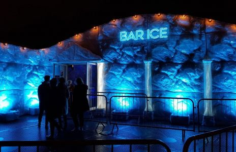 Bar Ice Winter Wonderland Area 51