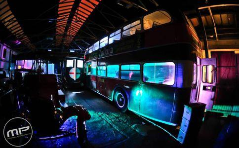 Bartons Buses Nottingham Halloween