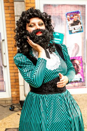 bearded lady singer