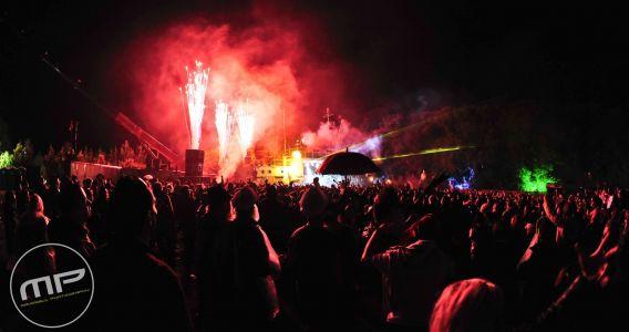 Bestival Port Stage Fireworks