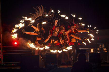 Bonfire Night Fire Show