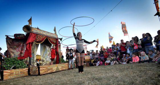 Camp Bestival Hula Hoop