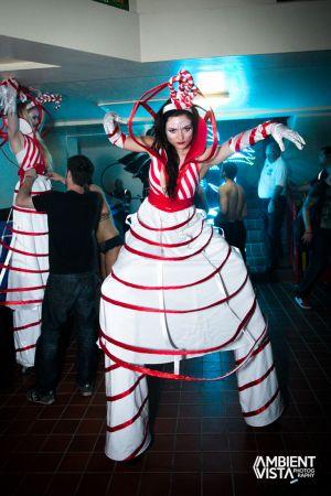 candy girls stilts