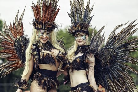 Carnival Feathers