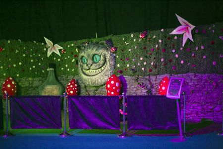 Cheshire Cat Decor Props