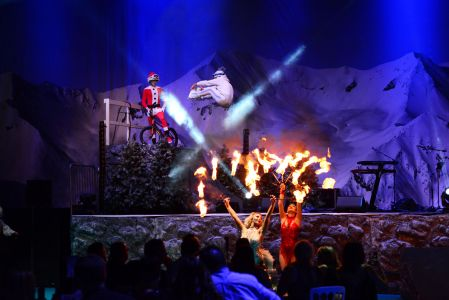 Christmas Alpine Themed Show