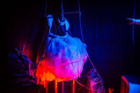 circus headless woman halloween