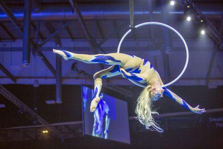Circus Hoop Aerial