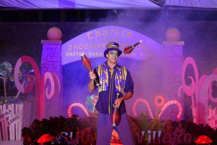 Circus Juggler Maldives
