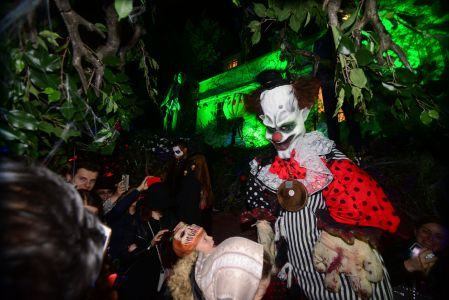 Clown Horror Jonathan Ross Halloween 2017
