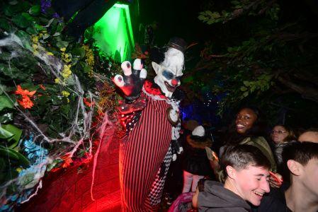 Clown Jonathan Ross Celeb Party
