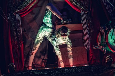 Contortionist Jonathan Ross Halloween Party