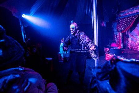 crazy circus for halloween