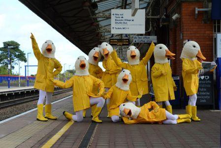 Crazy Duck Costume