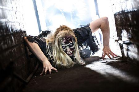 Creepy Zombie Girl Secret Party Project