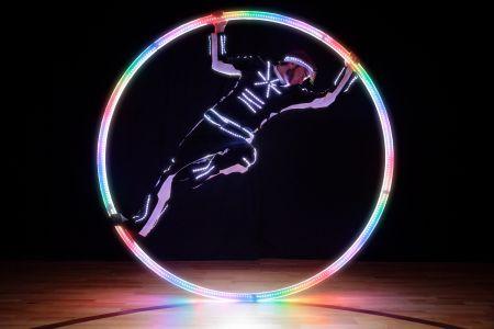 cyr wheel act led