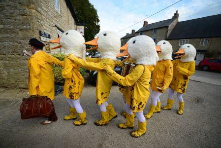 Duck Decor Theme Props Costume