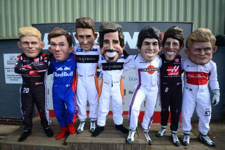 F1 Drivers Podium