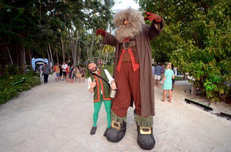 Fairy Tale Stiltwalker Maldives
