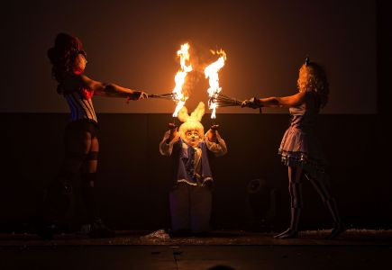 Fire Alice In Wonderland Sci-fi Weekender
