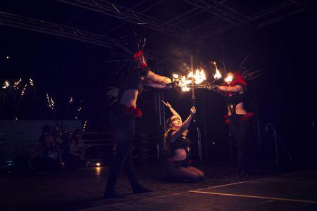 Fire Performance Choreogrpahed