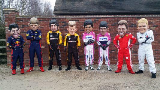 Formula One Driver Masks