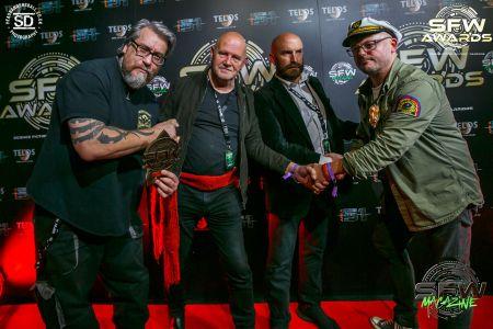 four comic artist award winners
