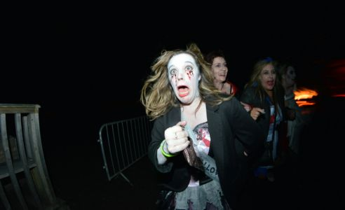 Frightened Halloween
