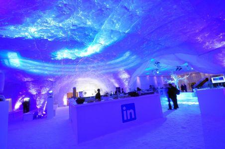 Frozen Ice World Decor