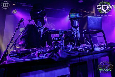 futuristic DJ