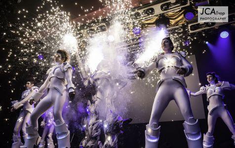 Futuristic Dancers Scifi