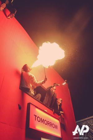 Glastonbury Festival Fire Breather
