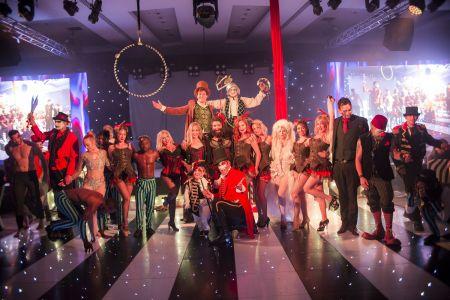 greatest showman stage show cast