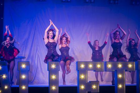 greatest showman theme dancers