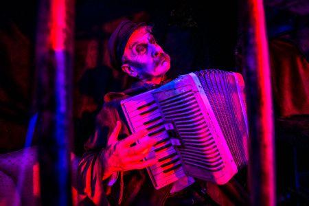 halloween accordionist