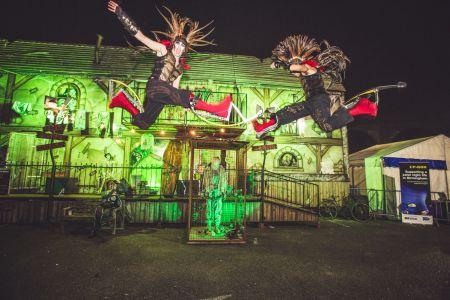 Halloween Bouncy Stilts