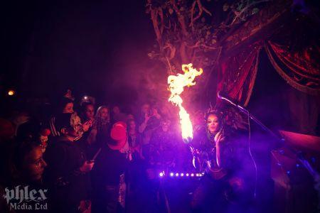 Halloween Fire Breather Jonathan Ross