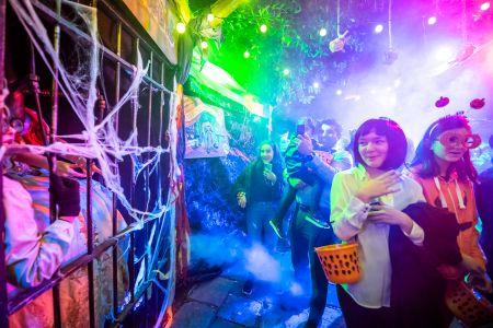 halloween walkabout