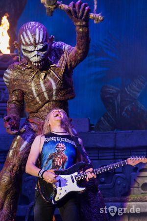 Iron Maiden Live Eddie