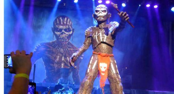Iron Maiden On Tour Eddie