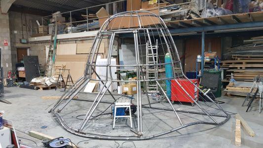 J Hus Hat Frame Production